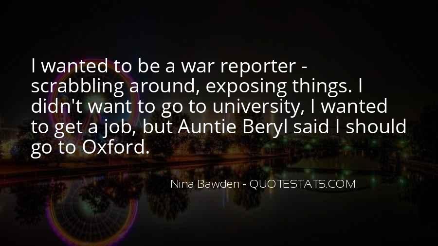 Nina Bawden Quotes #773979
