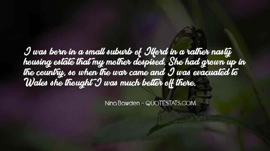 Nina Bawden Quotes #950799