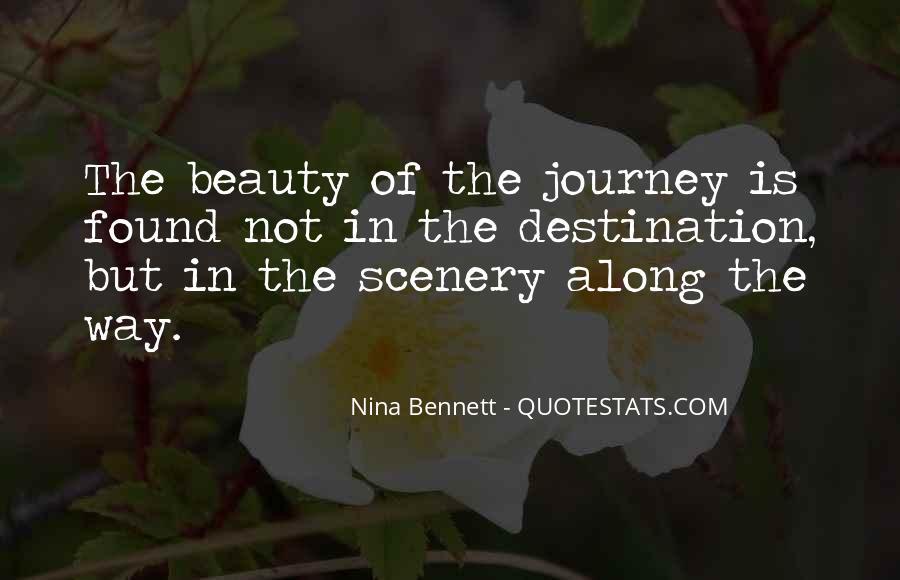 Nina Bennett Quotes #98301