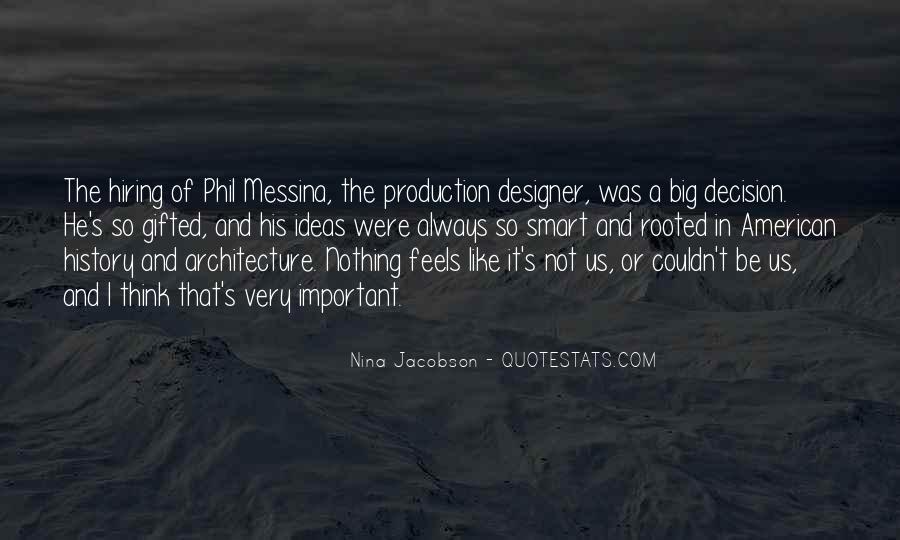 Nina Jacobson Quotes #119739