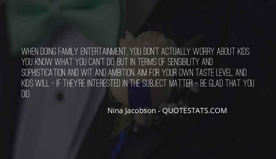 Nina Jacobson Quotes #136751