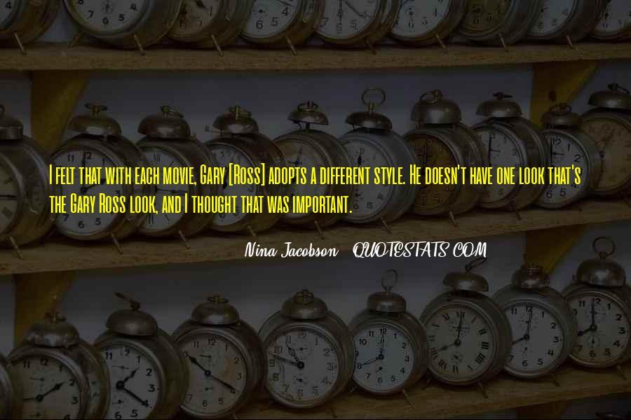 Nina Jacobson Quotes #353848