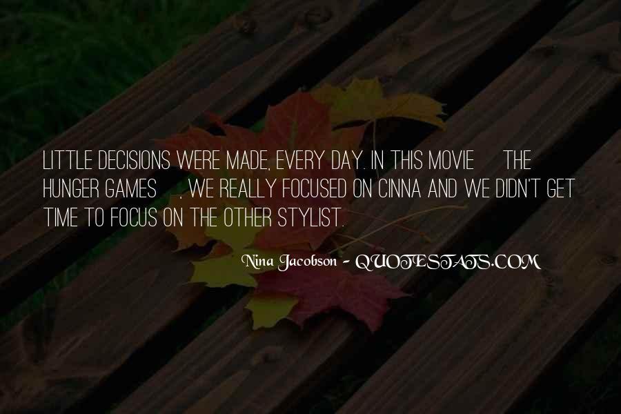 Nina Jacobson Quotes #736237