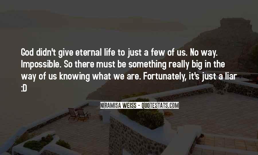 Niramisa Weiss Quotes #1405112