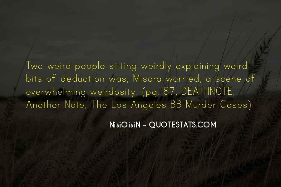 NisiOisiN Quotes #397228