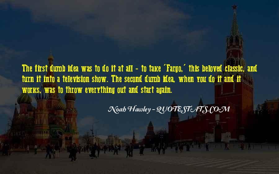 Noah Hawley Quotes #296709