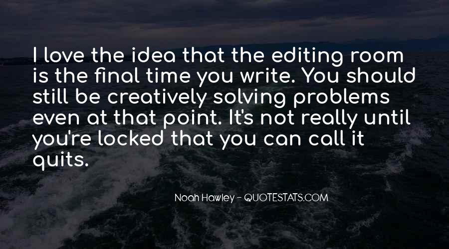 Noah Hawley Quotes #819768