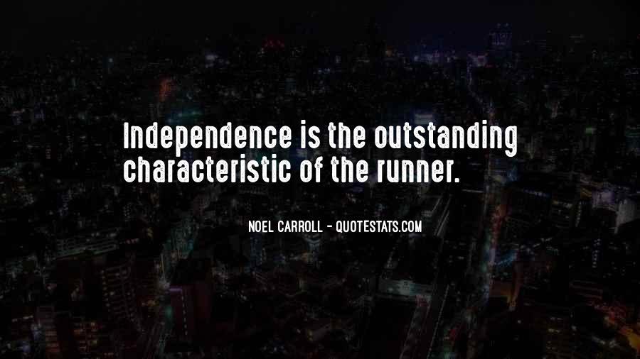 Noel Carroll Quotes #805334