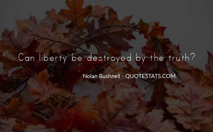 Nolan Bushnell Quotes #1313437