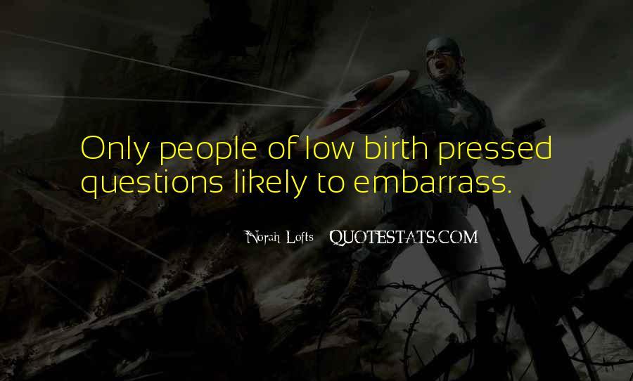 Norah Lofts Quotes #1517499