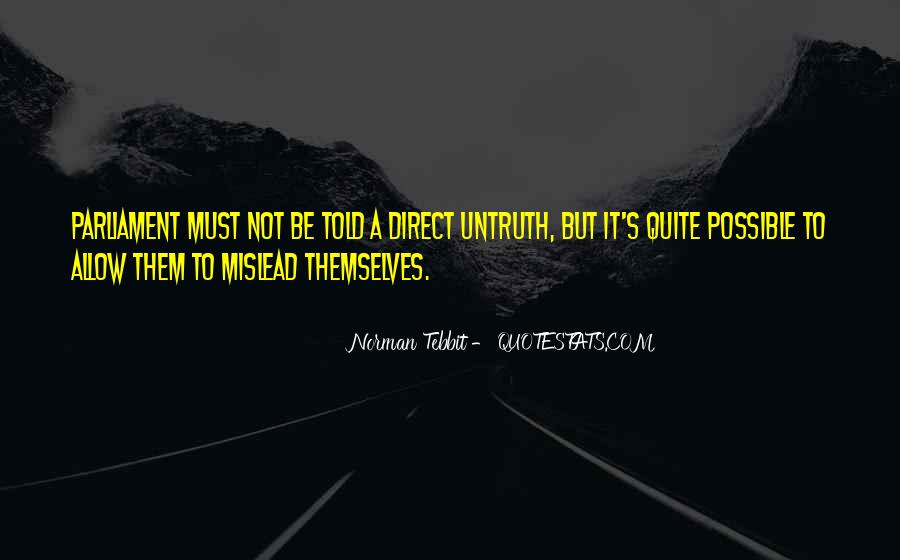 Norman Tebbit Quotes #130530