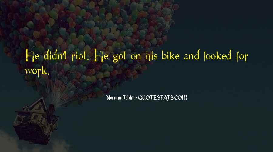 Norman Tebbit Quotes #349358