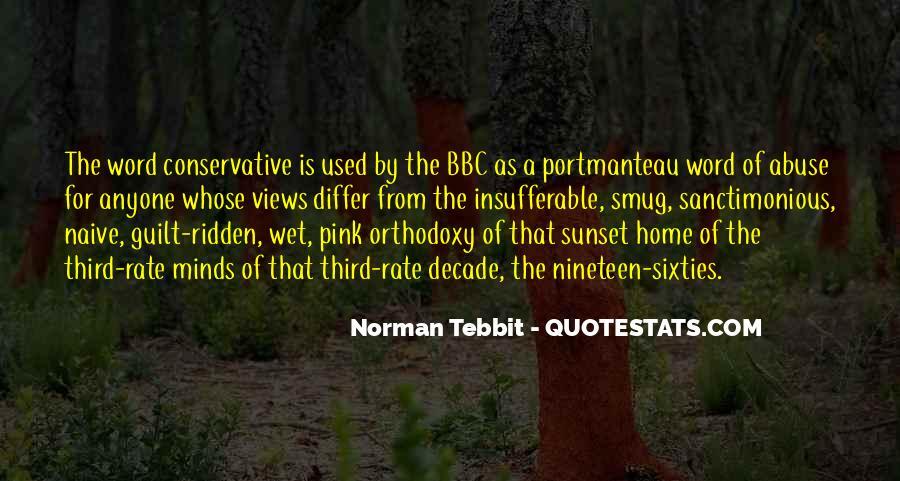 Norman Tebbit Quotes #524968