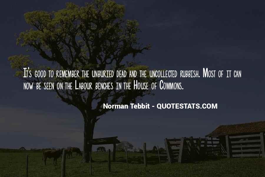 Norman Tebbit Quotes #595657