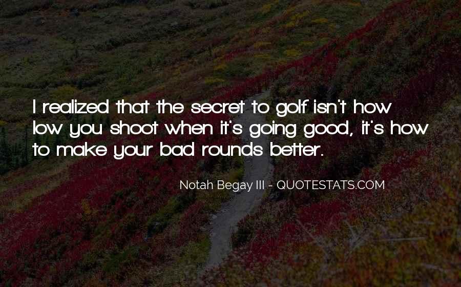 Notah Begay III Quotes #1555855