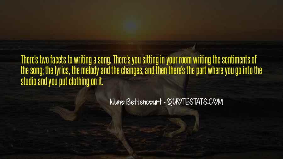 Nuno Bettencourt Quotes #950787
