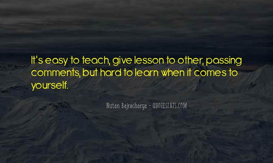 Nutan Bajracharya Quotes #1104173