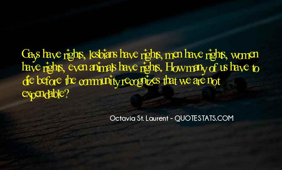 Octavia St. Laurent Quotes #1281911