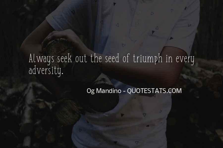 Og Mandino Quotes #1190699