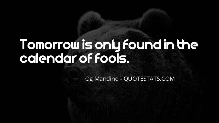 Og Mandino Quotes #1259645