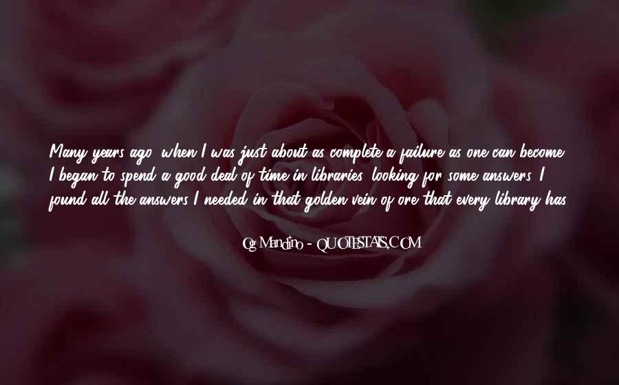 Og Mandino Quotes #129927
