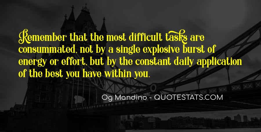 Og Mandino Quotes #1707630