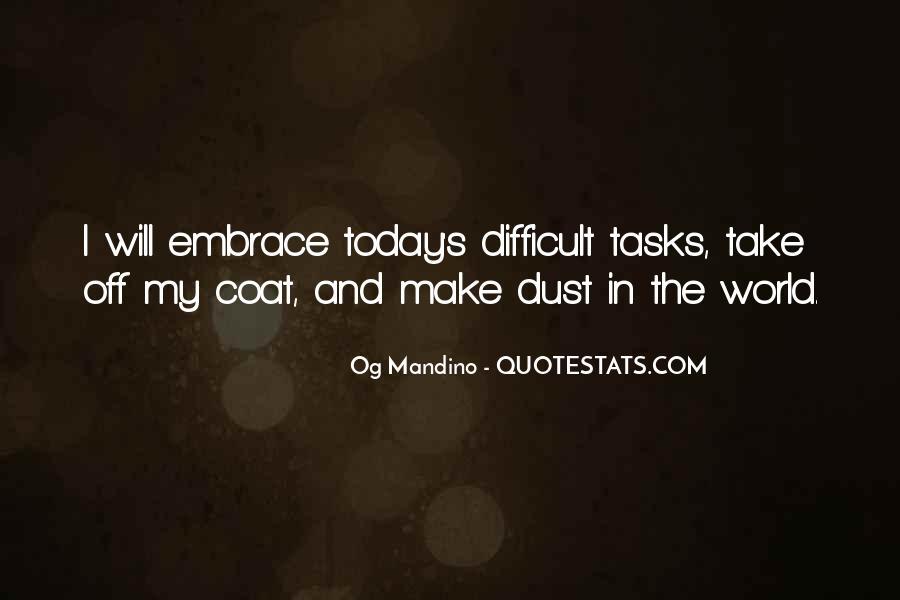 Og Mandino Quotes #704355
