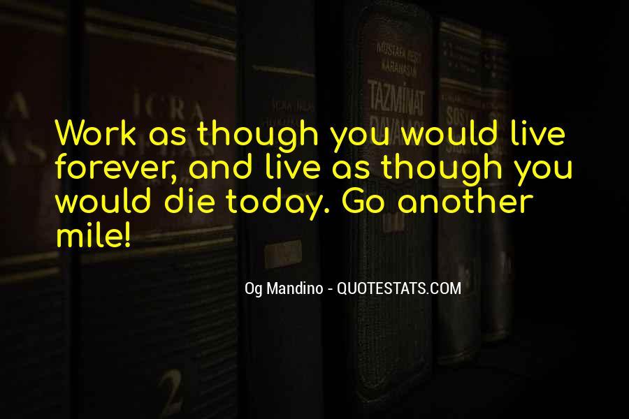 Og Mandino Quotes #719552
