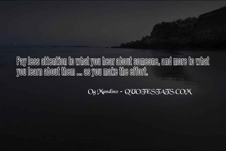 Og Mandino Quotes #799453