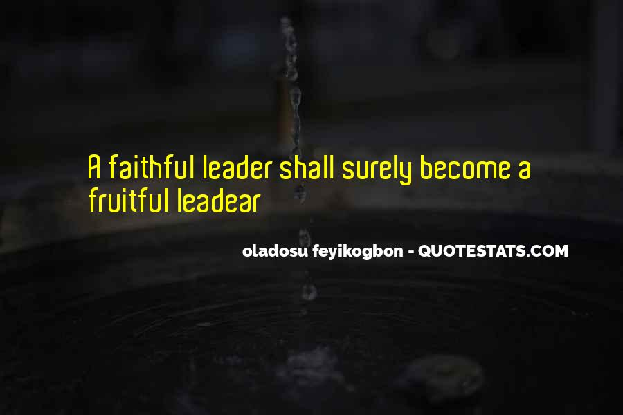 Oladosu Feyikogbon Quotes #1181821