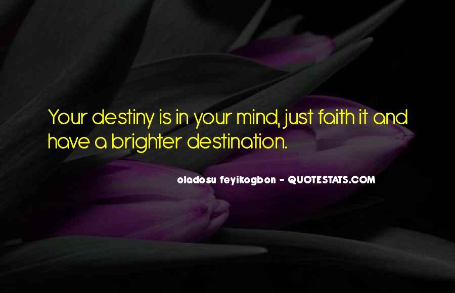 Oladosu Feyikogbon Quotes #39509