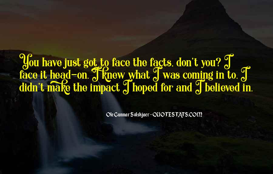 Ole Gunnar Solskjaer Quotes #5654