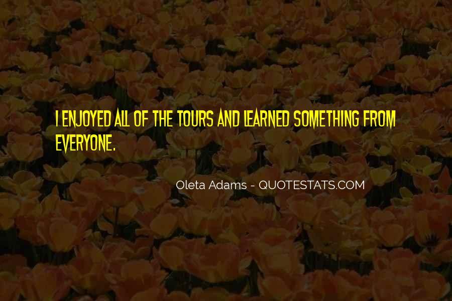 Oleta Adams Quotes #823617
