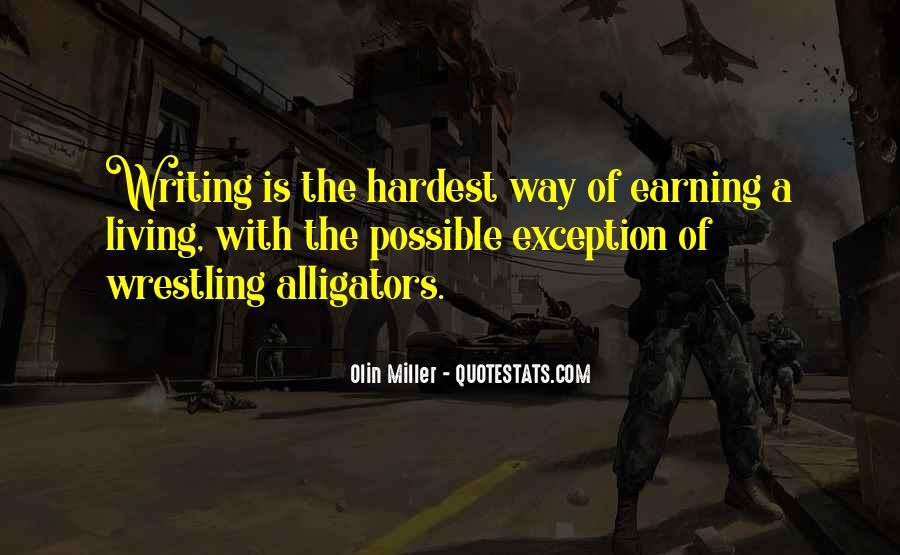 Olin Miller Quotes #332745