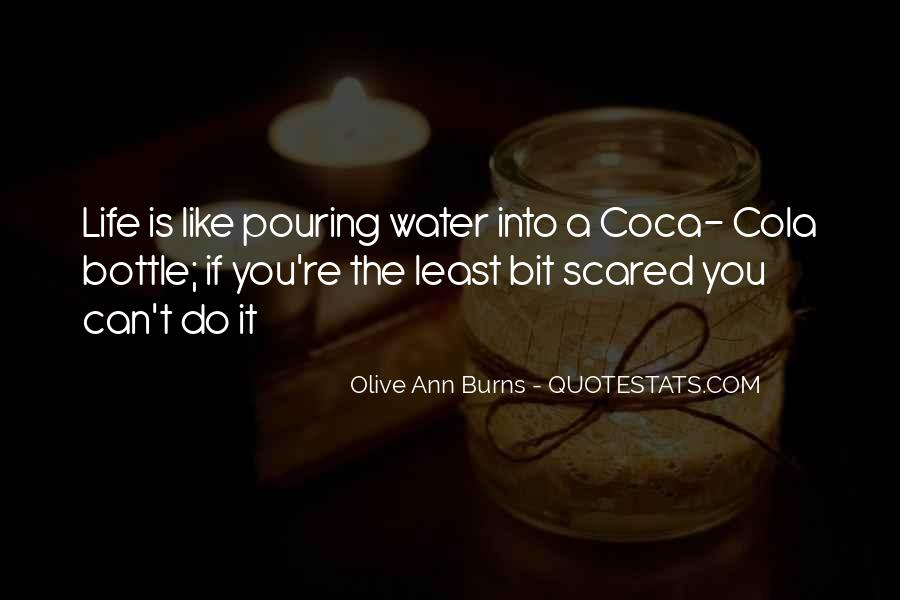 Olive Ann Burns Quotes #1326809