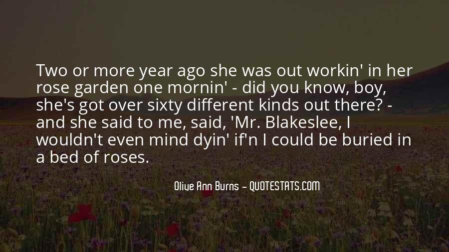 Olive Ann Burns Quotes #591215