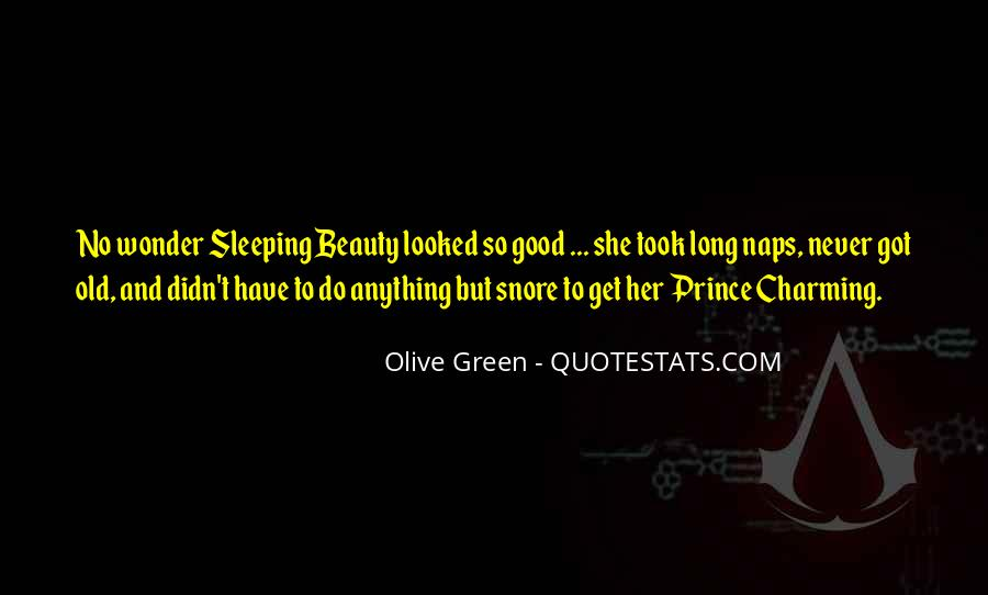Olive Green Quotes #29634