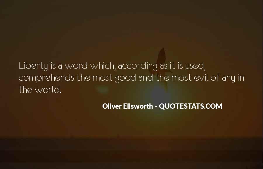 Oliver Ellsworth Quotes #1181082