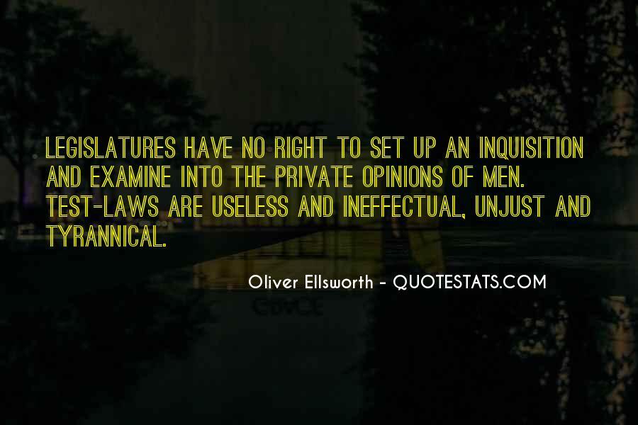 Oliver Ellsworth Quotes #1337227
