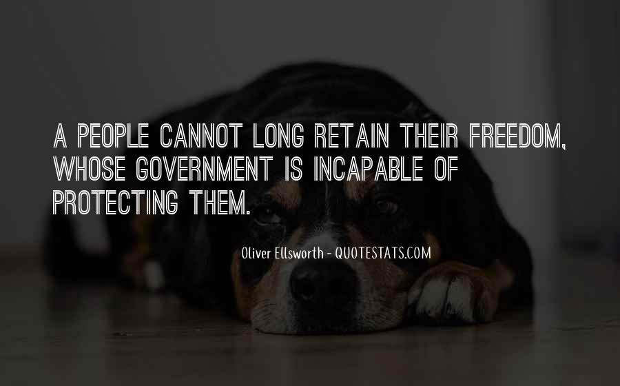 Oliver Ellsworth Quotes #1752132