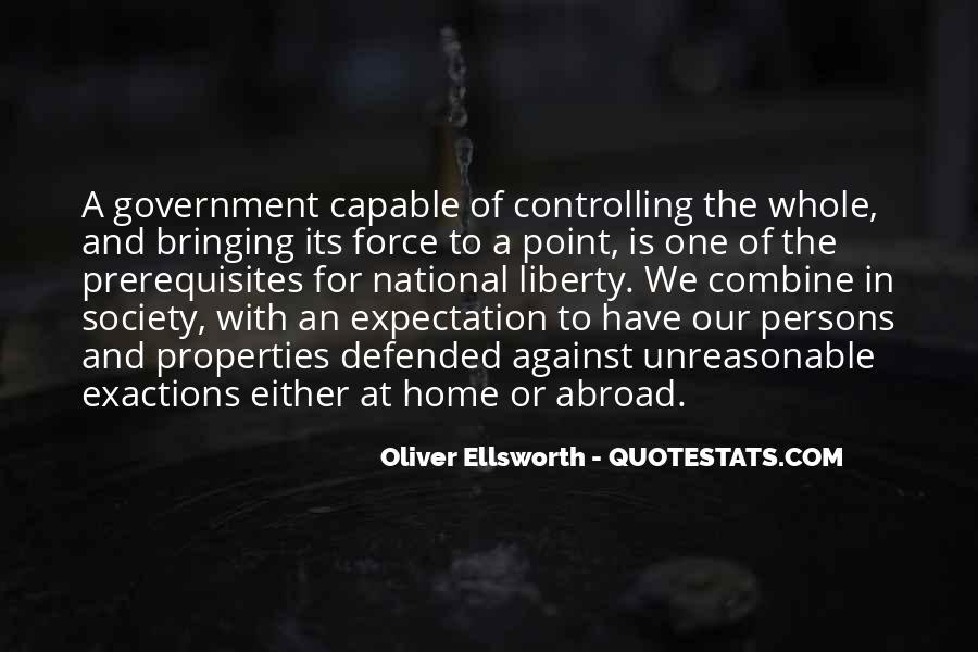 Oliver Ellsworth Quotes #19520