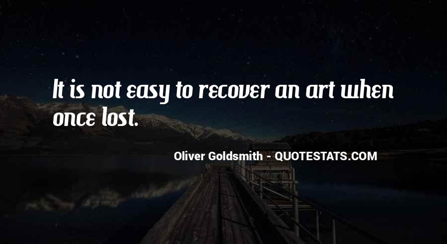 Oliver Goldsmith Quotes #1032901