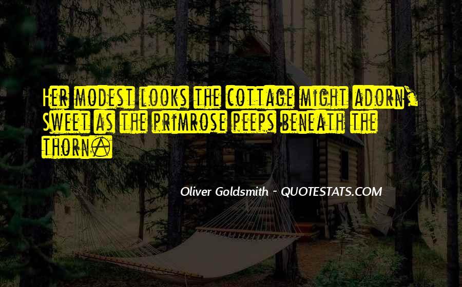 Oliver Goldsmith Quotes #1305864
