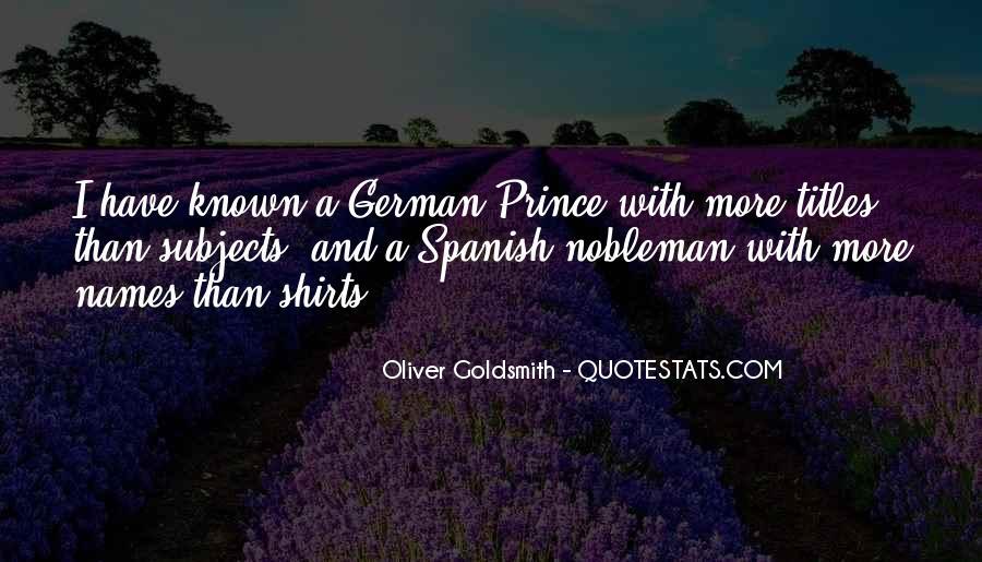 Oliver Goldsmith Quotes #1311059