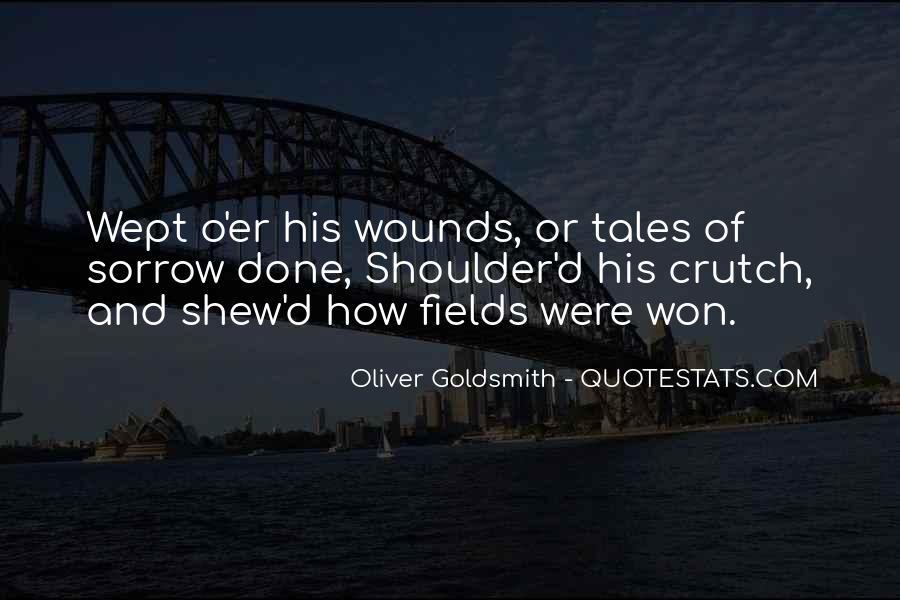 Oliver Goldsmith Quotes #1364435