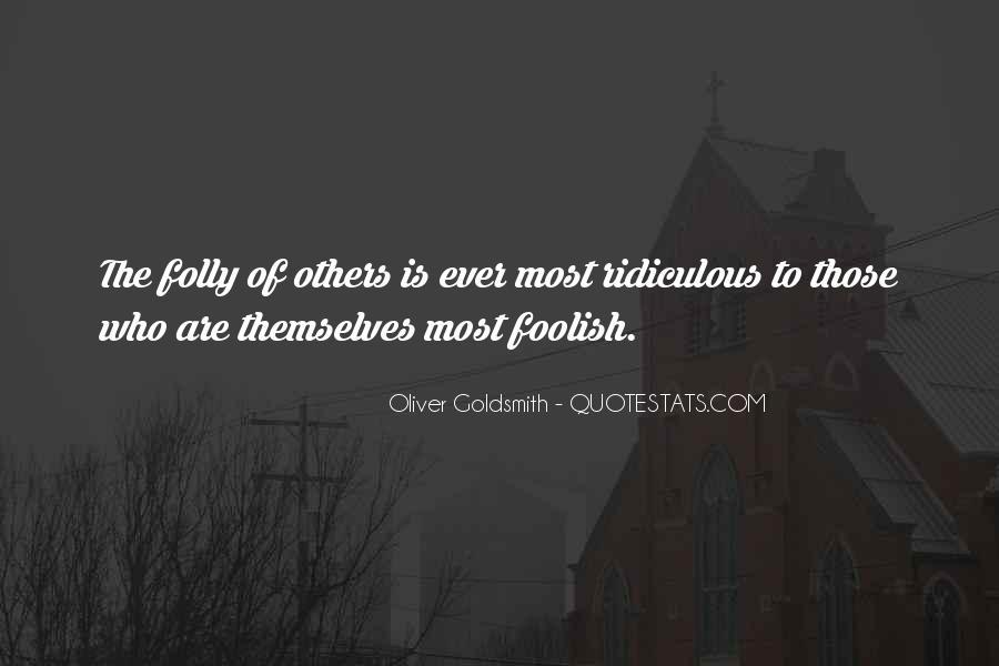 Oliver Goldsmith Quotes #1399231