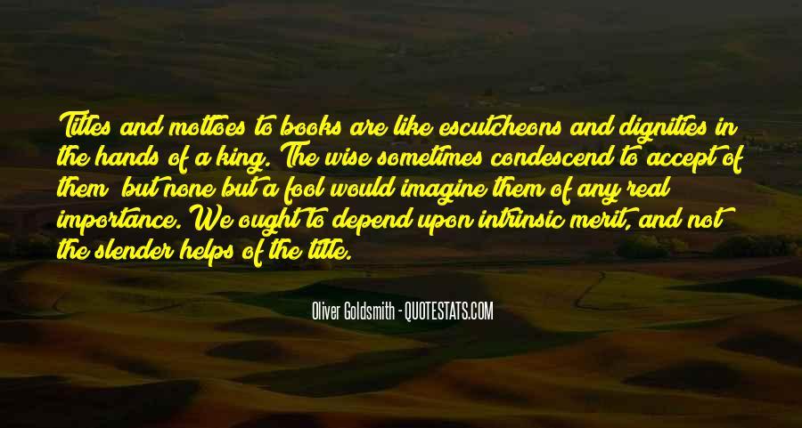 Oliver Goldsmith Quotes #1401530