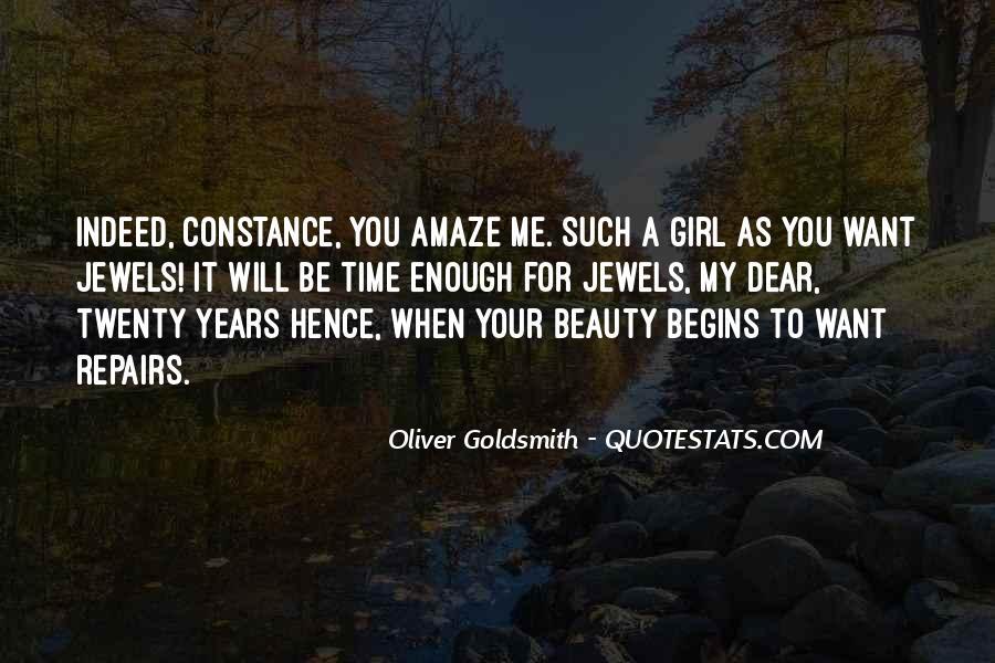 Oliver Goldsmith Quotes #1423985