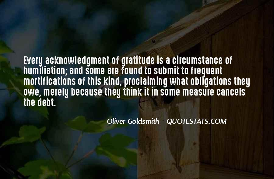 Oliver Goldsmith Quotes #1504661