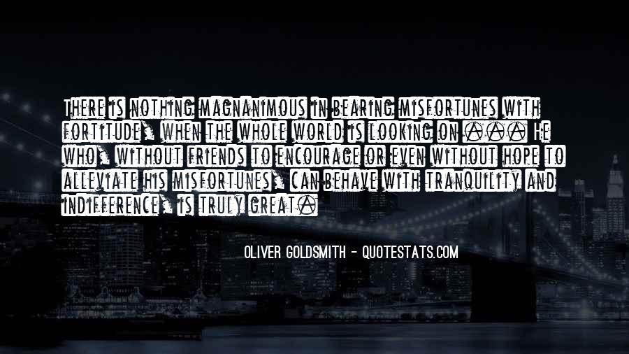 Oliver Goldsmith Quotes #1662453